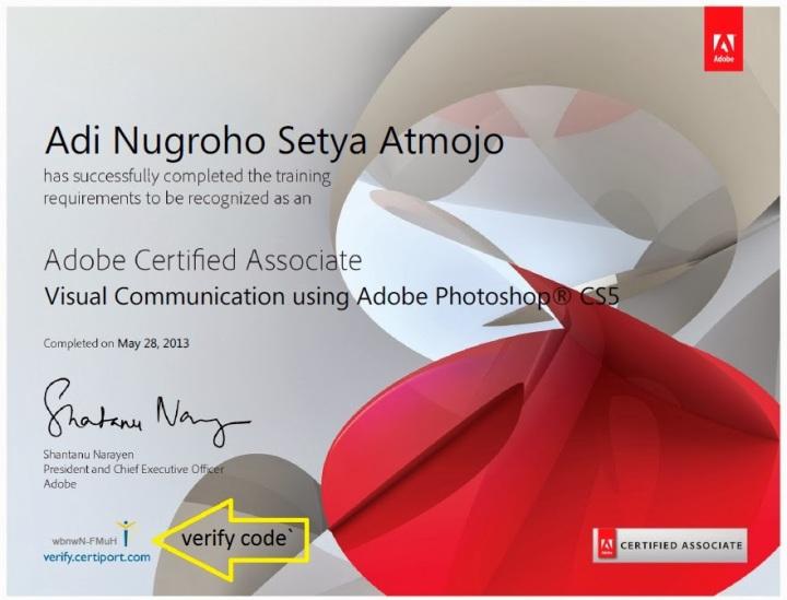 ACA certificate